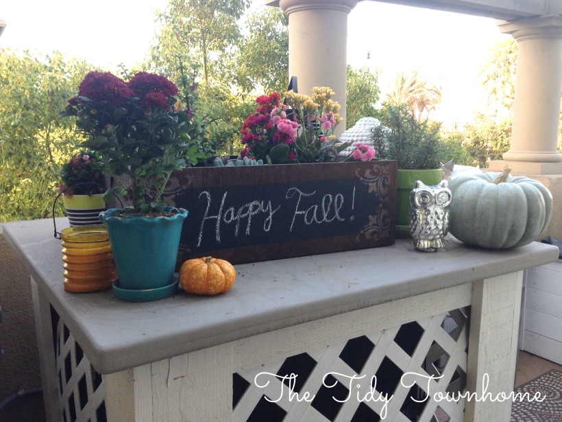 Southern California Fall Decor