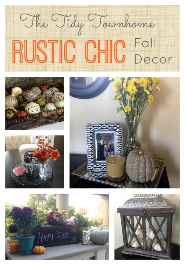 RUSTIC CHIC Fall Decor Pin