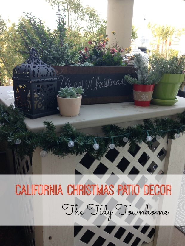 California Christmas Patio