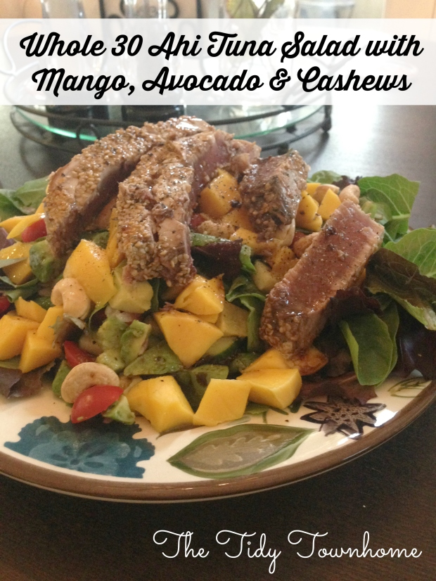 whole 30 ahi salad
