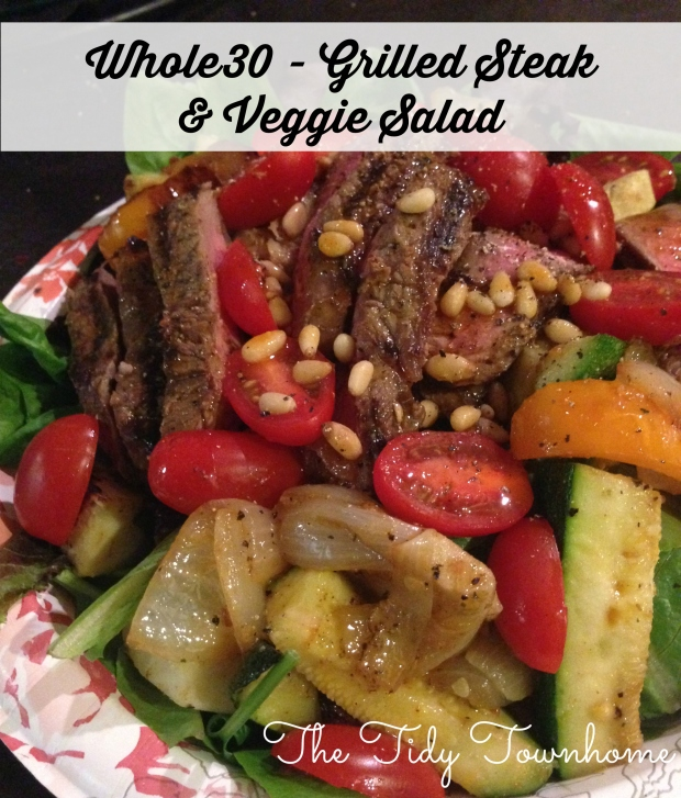 whole 30 steak salad