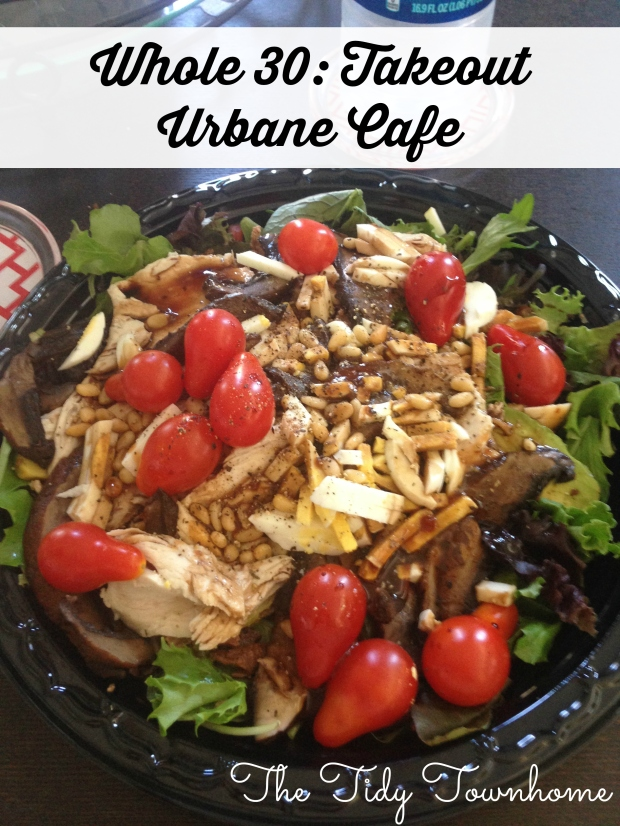 Whole 30 Takeout Urbane Cafe