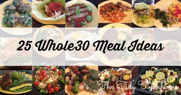 25 Whole30 Meal Ideas