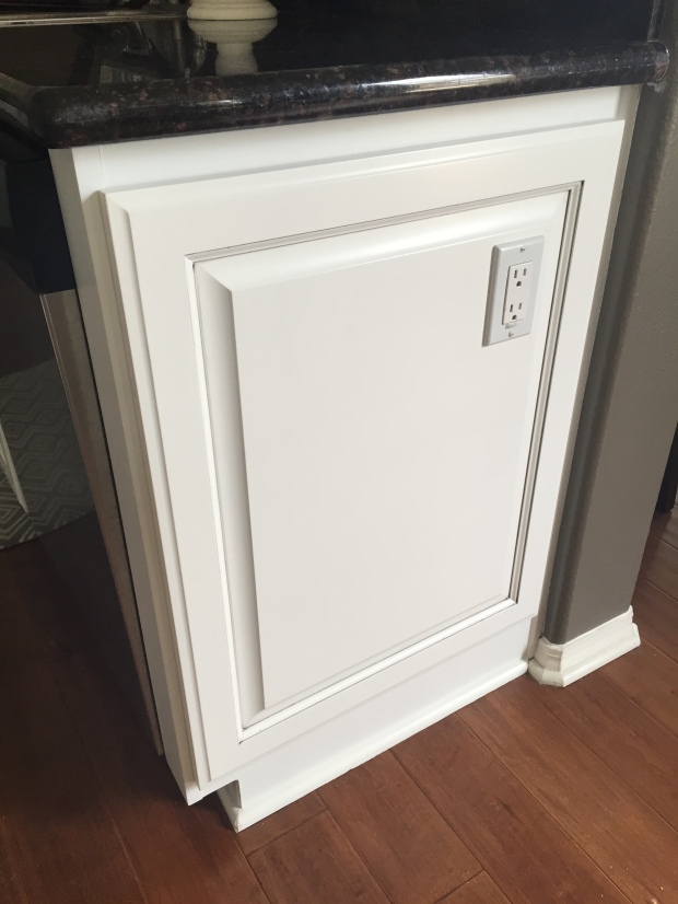 False door fronts cabinetry