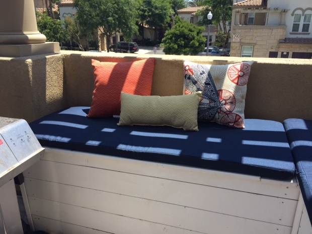 The Tidy Townhome - Custom Outdoor Bench Cushions